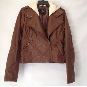 Jack by BB Dakota Black Vegan Leather Jacket
